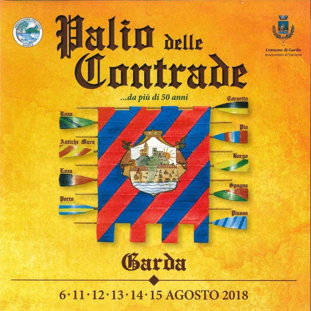 Palio delle Contrade 2018 - Garda 6-11-12-13-14-15 agosto 2018